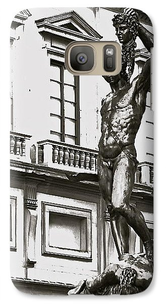 Galaxy Case featuring the photograph Bronze Icon by Eric Tressler
