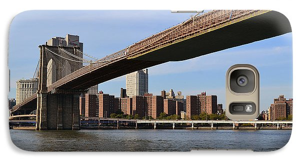 Galaxy Case featuring the photograph Brooklyn Bridge1 by Zawhaus Photography