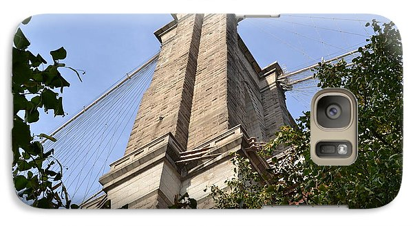 Galaxy Case featuring the photograph Brooklyn Bridge2 by Zawhaus Photography
