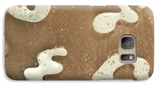 Galaxy Case featuring the photograph Brown And White by Artist and Photographer Laura Wrede