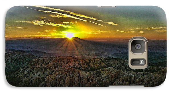 Galaxy Case featuring the photograph Bryce Canyon Sunrise by Anne Rodkin