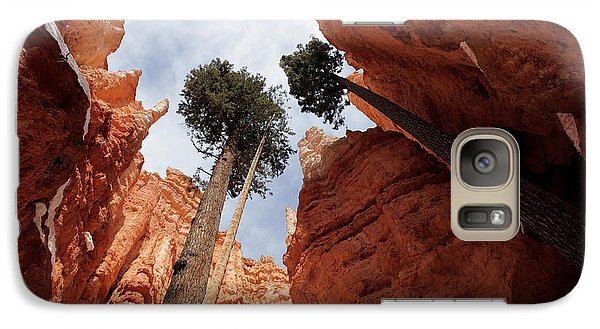 Galaxy Case featuring the photograph Bryce Canyon Towering Hoodoos by Karen Lee Ensley