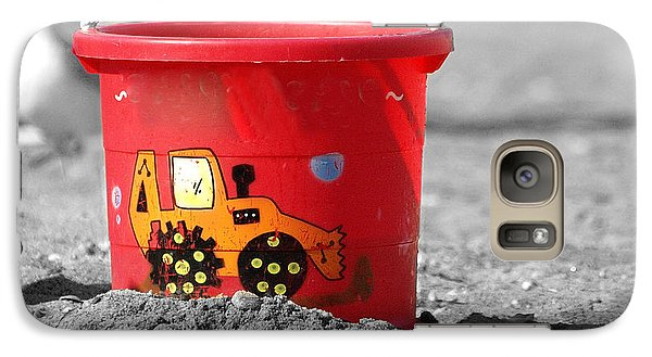 Galaxy Case featuring the photograph Get A Bucket by Raymond Earley