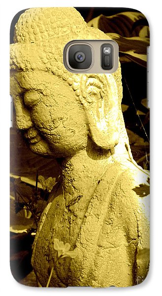 Galaxy Case featuring the photograph Buddha  by France Laliberte