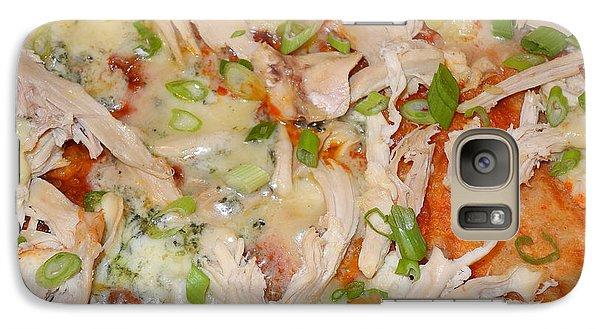 Galaxy Case featuring the photograph Buffalo Chicken Pizza by Sami Martin