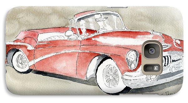 Galaxy Case featuring the painting Buick Skylark 1953 by Eva Ason