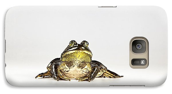 Galaxy Case featuring the photograph Bullfrog by John Crothers