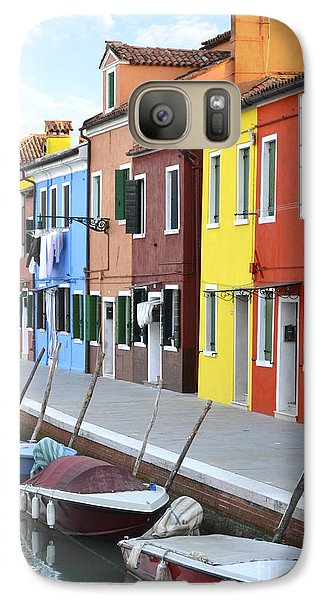 Galaxy Case featuring the photograph Burano Italy 2 by Rebecca Margraf