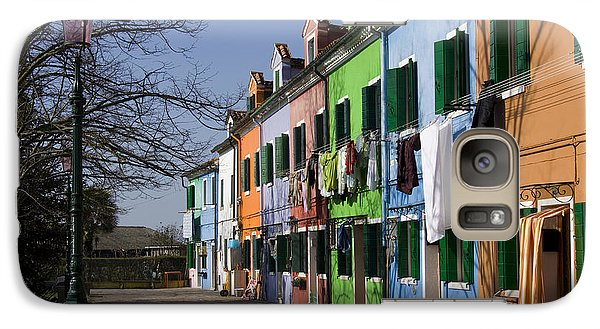 Galaxy Case featuring the photograph Burano Venice by Raffaella Lunelli