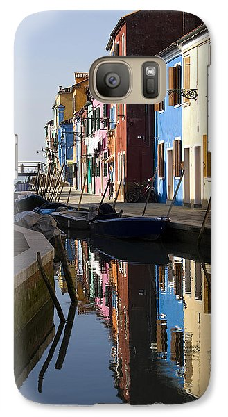 Galaxy Case featuring the photograph Burano View  by Raffaella Lunelli