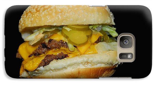Galaxy Case featuring the photograph Burgerlicious by Cindy Manero