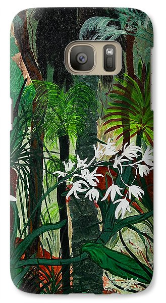 Galaxy Case featuring the painting Bush Beauty by Judi Goodwin