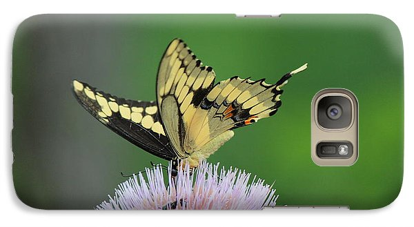 Galaxy Case featuring the photograph Butterflies Are Free by Kathy  White