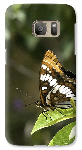 Galaxy Case featuring the photograph Butterfly At Rest by Betty Depee
