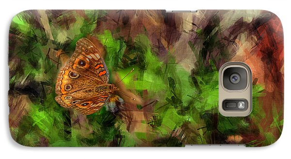 Galaxy Case featuring the photograph Butterfly Camouflage by Dan Friend