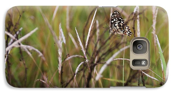 Galaxy Case featuring the photograph Butterfly In Flight by Fotosas Photography