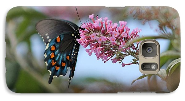 Galaxy Case featuring the photograph Butterfly by Laurinda Bowling