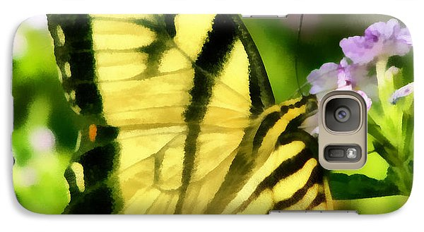 Galaxy Case featuring the painting Butterfly by Lynne Jenkins