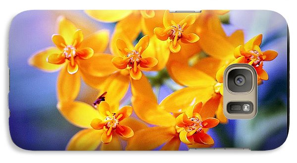 Galaxy Case featuring the photograph Butterfly Weed by Judi Bagwell