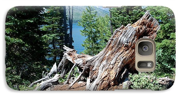 Galaxy Case featuring the photograph By Jenny Lake by Dany Lison
