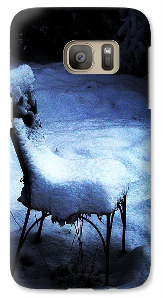 Galaxy Case featuring the photograph By The Light Of The Moon by Susanne Still