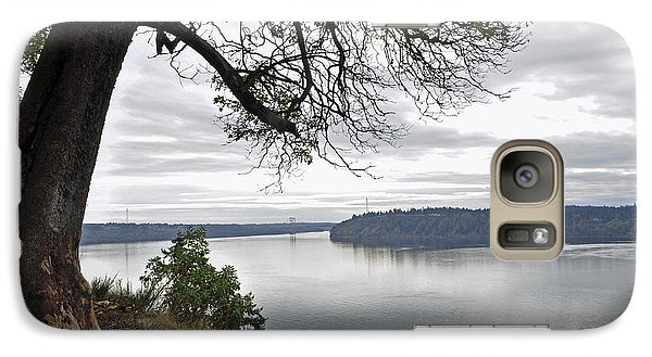 Galaxy Case featuring the photograph By The Still Waters by Tikvah's Hope