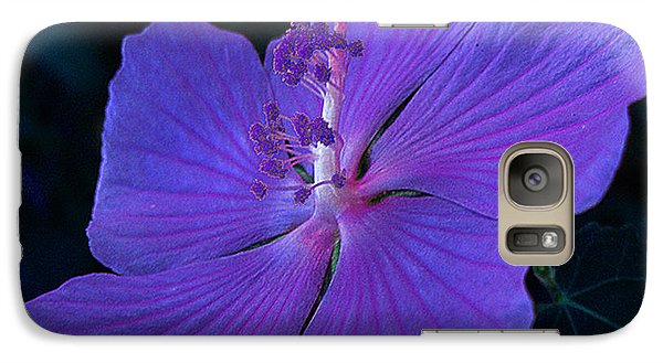 Galaxy Case featuring the photograph By Vicki's Door by Louis Nugent