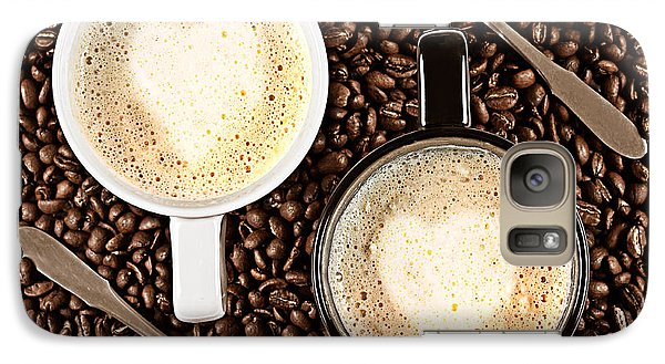 Galaxy Case featuring the photograph Caffe Latte For Two by Gert Lavsen
