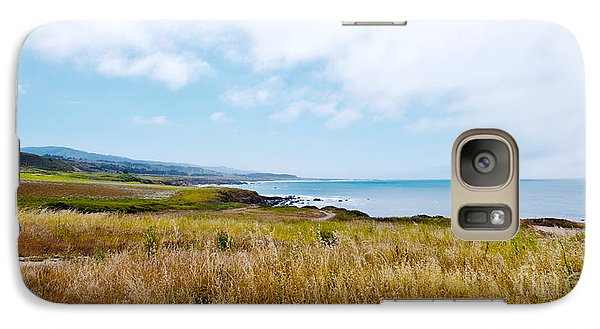 Galaxy Case featuring the photograph California Pacific Coast Highway - Forever Summer  by Artist and Photographer Laura Wrede