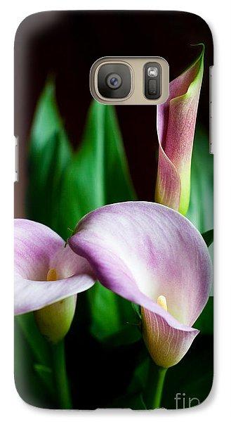 Galaxy Case featuring the photograph Calla Lily by Barbara McMahon