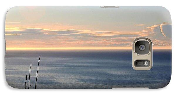 Galaxy Case featuring the photograph Calm Sea by Michele Cornelius