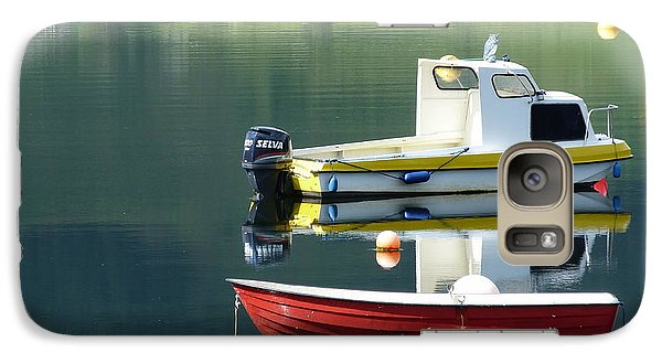 Galaxy Case featuring the photograph Calm Waters by Lynn Bolt