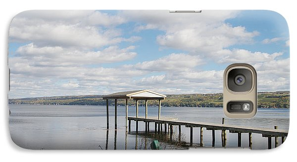 Galaxy Case featuring the photograph Calm Waters by William Norton