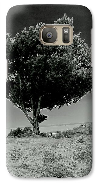 Galaxy Case featuring the photograph Calms by Amy Sorrell