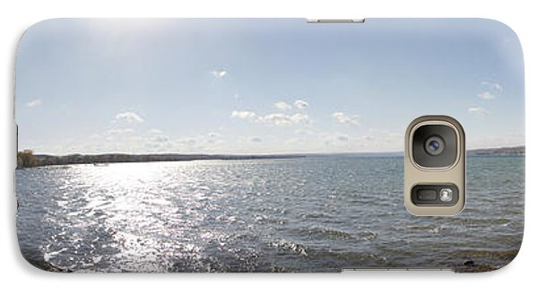 Galaxy Case featuring the photograph Canandaigua Lake Panorama by William Norton
