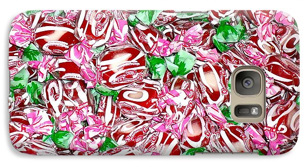 Galaxy Case featuring the photograph Candy Is Dandy by Beth Saffer