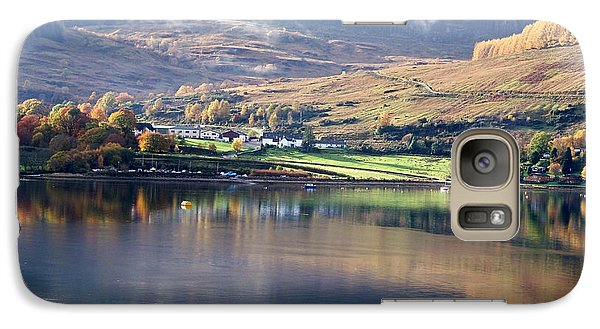 Galaxy Case featuring the photograph Canoeing On Loch Goil by Lynn Bolt