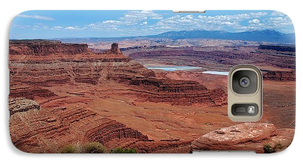 Galaxy Case featuring the photograph Canyonlands by Dany Lison