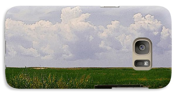 Galaxy Case featuring the photograph Cape Marsh by Michael Friedman