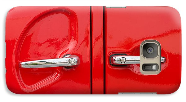 Galaxy Case featuring the photograph Car Handles by Hans Engbers