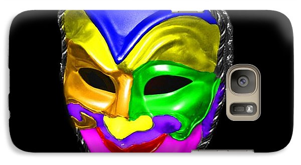 Galaxy Case featuring the photograph Carnival Mask by Blair Stuart