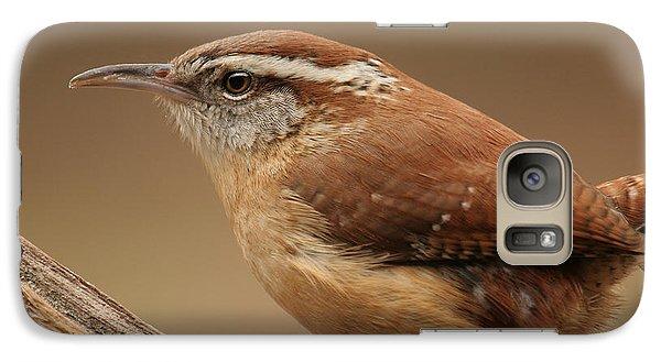 Galaxy Case featuring the photograph Carolina Wren by Daniel Reed