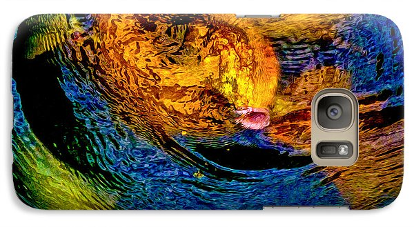 Galaxy Case featuring the photograph Carps In Motion by Ken Stanback
