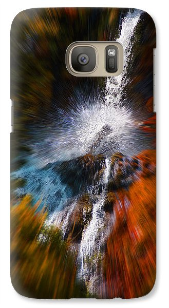 Galaxy Case featuring the photograph Cascade Waterfall by Mick Anderson