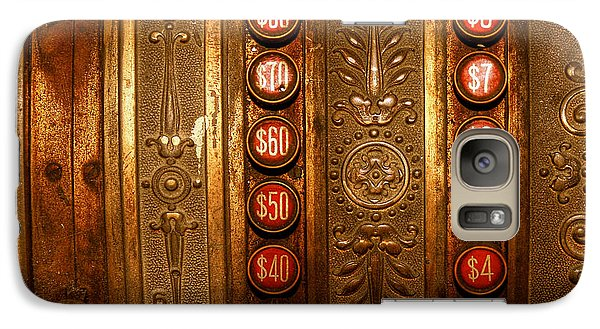 Galaxy Case featuring the photograph Cash Register by Trey Foerster