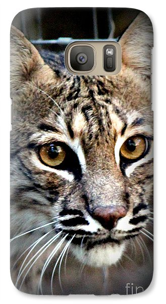 Galaxy Case featuring the photograph Cat Fever by Kathy  White