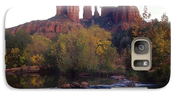Galaxy Case featuring the photograph Cathedral Rock by Darleen Stry