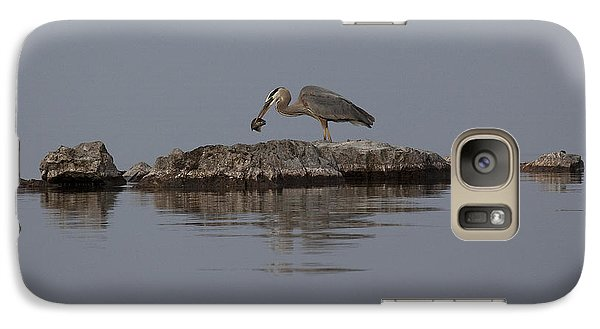 Galaxy Case featuring the photograph Caught One by Eunice Gibb