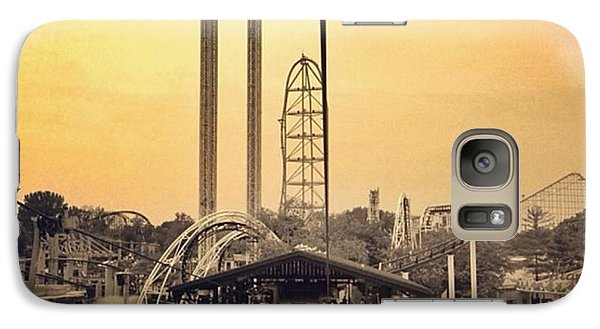 #cedarpoint #ohio #ohiogram #amazing Galaxy Case by Pete Michaud