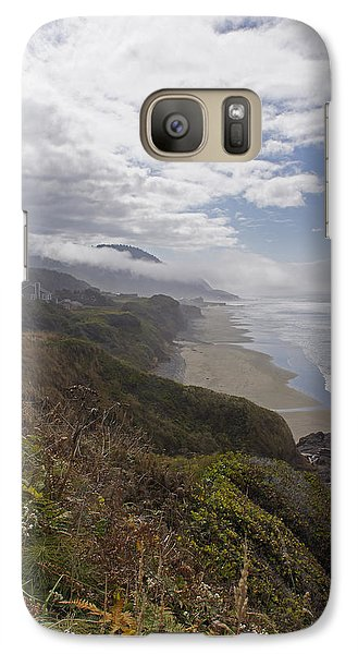 Galaxy Case featuring the photograph Central Oregon Coast Vista by Mick Anderson